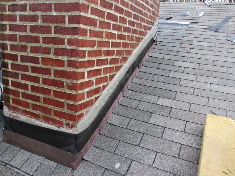 Chimney Flashing Repair, Newtown Square PA