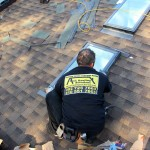 New Shingle Roofing & Velux Skylights Installation