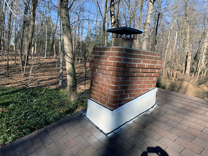 Roof Leak Chimney Flashing Repair Middletown Township Pa
